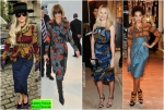 Burberry Prorsum Ankara Obsession - Lady Gaga, Anna Wintour, Kate Bosworth, and Solange Knowles