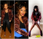 Angela Simmons in Jewel By Lisa NYFW